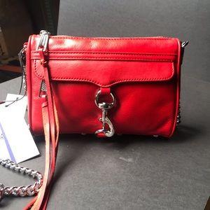 mini Mac convertible crossbody leather bag